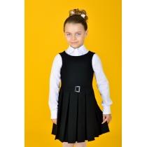 Сарафан для девочки черный 6029-1 рост 152 см