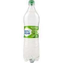 Вода BonAqua среднегазированная 1л