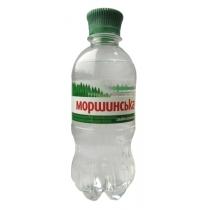 Вода минеральная Моршинская Слабогазированная 0.33 л