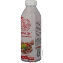 Сок Наш Сок клубника-яблоко 0.5 л