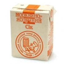 Сок ОКЗДП морковно-яблочный 0.2 л