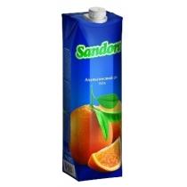 Сок Sandora апельсиновый