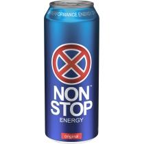 Напиток энергетический Non Stop сильногазированный 0.5 л
