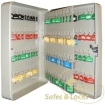 Шкаф на 160 ключей TS0041 80х280х370 без брелков, замок ключевой