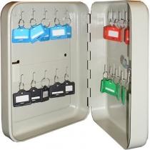 Шкаф на 20 ключей TS0083 60х160х200 без брелков, замок ключевой