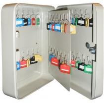 Шкаф на 48 ключей TS0072 60х180х250 без брелков, замок ключевой