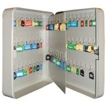 Шкаф на 90 ключей TS0052 80х240х300 без брелков, замок ключевой