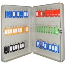 Шкаф на 60 ключей TS0044 60х280х370 без брелков, замок ключевой