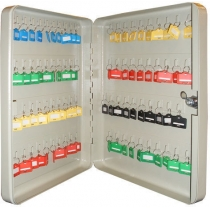 Шкаф на 80 ключей TS0043 80х280х370 без брелков, замок ключевой