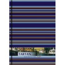 """Блокнот """"Тартан"""", А4, твердая обложка, 96 лист., полноцветная ламинированная обложка, клетка, бежеві"""