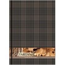"""Блокнот """"Тартан"""", А4, твердая обложка, 96 лист., полноцветная ламинированная обложка, клетка, серый"""