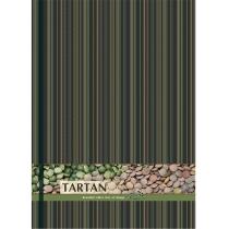 """Блокнот """"Тартан"""", А4, твердая обложка, 96 лист., полноцветная ламинированная обложка, клетка, зелены"""