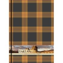 """Блокнот """"Тартан"""", А4, твердая обложка, 96 лист., полноцветная ламинированная обложка, клетка, оранже"""