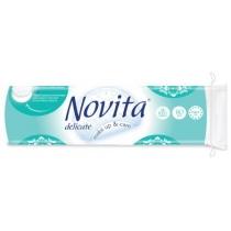 Диски ватные косметические NOVITA Delicate 70 штук