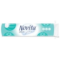 Диски ватные косметические NOVITA Delicate 120 штук