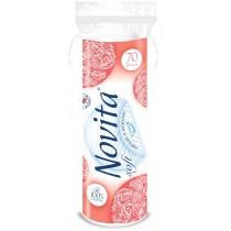 Диски ватные косметические NOVITA Soft 70шт
