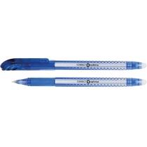 Ручка кулькова самостираюча Optima CORRECT синя