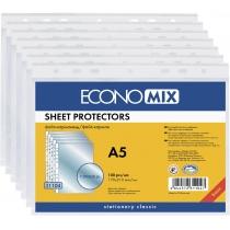 Файл для документов А5 Economix, 30 мкм, фактура