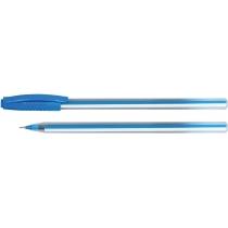 Ручка масляная Economix LINE синяя