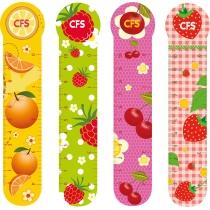 """Закладинки пластикові для книг """"Fruit"""" (4шт.)"""