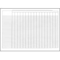Пустографка тип паперу офсетний формат А3 1+1 100 аркушів
