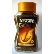 Кофе растворимый Nescafe Gold фигурная банка
