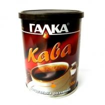 Кофе растворимый Галка в мет/банке литог