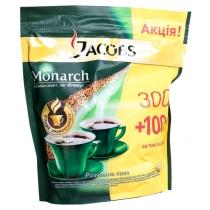 Кофе растворимый JacobsMonarch экон.пак 50г в подар Акция 400г
