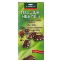 Шоколад SK молочный орех диабетический 100г