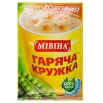 Суп Гаряча кружка гороховый с беконом и гренками