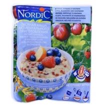 Каша овсяная Nordic Минутка яблоко-черника-малина, 35г