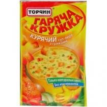 Суп-пюре Гаряча кружка куриный с гренками