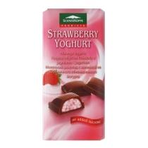 Шоколад SK молочный клубника-йогурт диабетический 100г