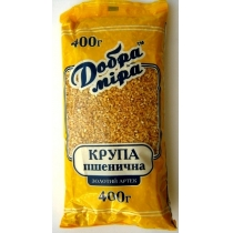 Крупа Добра міра Золотой Артек пшеничная