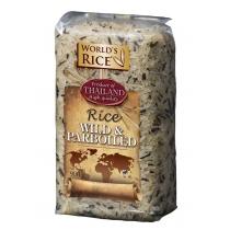 Рис World's rice дикий+парбоилд