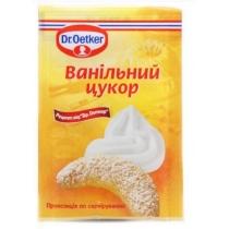 Сахар Dr.Oetker ванильный добавка для выпечки, 8г