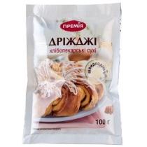 Дріжджі Премія хлібопекарські сухі 100г
