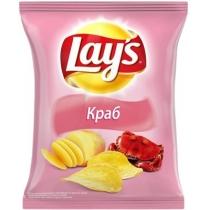 Чипсы Lay's со вкусом краба 133 г