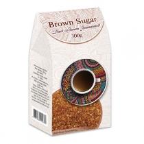 Сахар Аскания-Пак Dark Brown Granulated коричневый, 300г