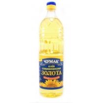Масло подсолнечное Чумак рафинированное дезодорир