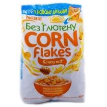 Завтрак Nestle Gold Flakes сухой мед-орех, 500г