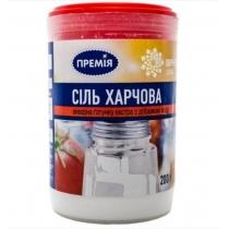 Соль Премия экстра кухонная пищевая с добавк йода, 200г
