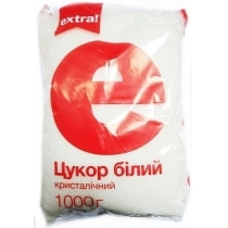 Сахар Extra! белый кристаллический, 1кг