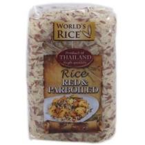 Рис World's rice красный + парбоилд