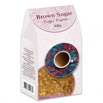 Сахар Аскания-Пак Coffee Crystals коричневый, 300г