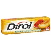 Резинка жевательная Dirol арбузно-дынный коктейль