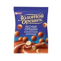 Драже Золотой Орешек молочный шоколад лесной орех, 100г
