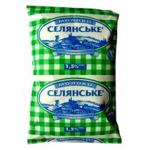 Молоко суперпастеризованное Селянське 1,5%