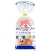 Конфеты Luhders Дольки лайма и грейпфрута желейные, 175г