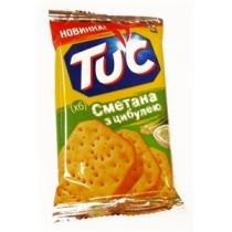 Крекер Tuc соленый со сметаной и луком